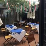 スポーティフ カフェ - 中庭