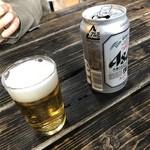 手造りの店 さとう - 生ビール