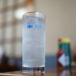 食事処 酒肴 水口 - レモンサワー