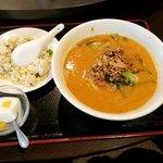 福祥園 - タンタン麺と半炒飯