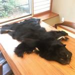 98269894 - 熊の毛皮がお迎えです