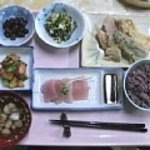 民宿あけぼの館 - 料理写真:2011.04.14.の夕食