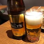 楽仙樓 - 瓶ビール中