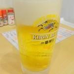 やきとん ほむら屋 - 生ビール