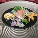 Chinese Restaurant Season - 天然明石鯛の中華風刺身