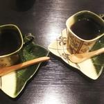 鰻屋かざん   UnagiyaKazan - サービスのコーヒー