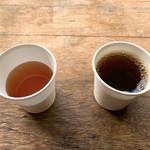 箱根・ルッカの森 - お茶とコーヒー