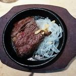 ビーフキッチンスタンド - 名物ビフテキ(50g)  290円
