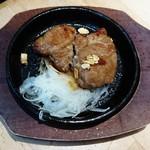 ビーフキッチンスタンド - 四元豚のポークステーキ  380円
