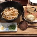 本町製麺所 天 - 天ぷらセット 1080円