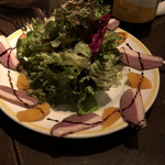 テルミニ - スモーク鴨とオレンジのサラダ