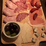 テルミニ - ハムとチーズ盛り合わせ