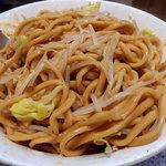 ラーメン 宮郎 - 汁なし・全マシ(800円)