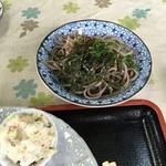 知足亭 - 皿蕎麦 ¥200