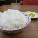 ラーメン2国 - 中ライス100円