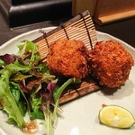 魚貝三昧 げん屋 - 蟹味噌コロッケ
