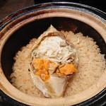 禅紫 - ワタリガニ土鍋御飯