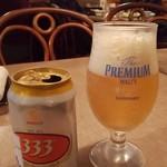 サイゴン・レストラン - 333(パーパーパー)ビール