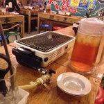 磯丸水産 二子玉川店 - 基本 磯焼きの店みたいです