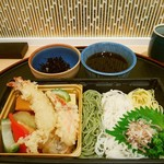 旬菜三山 - 3色麺。