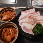 98290896 - 豚カルビと白菜キムチ