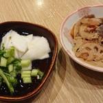 旬菜と海鮮 森田屋 - 料理写真:漬物&チンピラレンコン♪(/-\*)