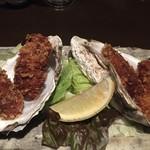 七番蔵 - 生牡蠣食べてカキフライかよ 牡蠣好きなんだね私もです(笑)