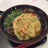 京たんば - 料理写真:●かきあげそばセット520円税込 (炊き込みご飯、漬物付き) 炊き込みご飯は大盛無料