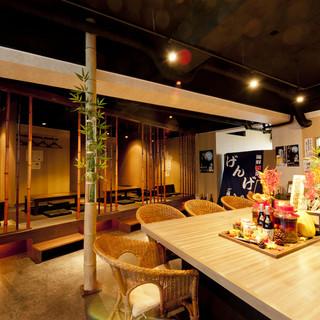 まさに大人の隠れ家◆竹をイメージした落ち着きと寛ぎの空間ー…