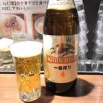 麺屋 ねむ瑠 - 瓶ビール400円
