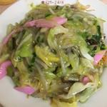 小龍 - 皿うどん (´∀`)/ やっぱ細麺