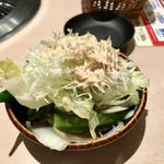 すたみな太郎 - サラダバー 一杯目