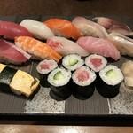 寿司と酒 十六夜 - 竹にぎり