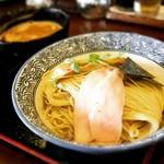 麺処いぐさ - 鶏白湯つけ麺ver旨味煮干し水