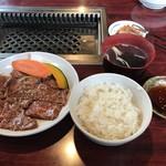 焼肉飯店 こぶたー - ロースランチ:1,630円