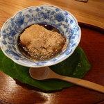 蔵精 - 天然麹菌玄米甘酒葛もち 500円