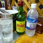 オムニ食堂 - ドリンク写真:JINRO(1,000円)