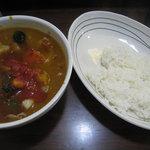 9831874 - 秋野菜カレー 950円
