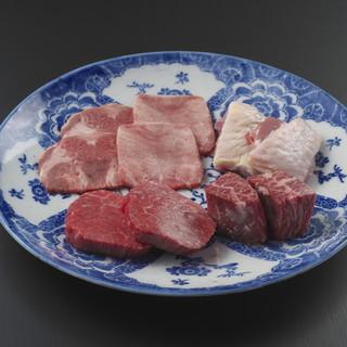 お肉には自信があります。