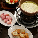ビストロ ワイン カフェ ハース - チーズフォンデュとガレットの会