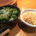 永秀 - チョレギサラダと豆もやし