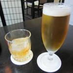 櫻川 - 梅酒ロック 700円+Tax & 生ビール【一番搾り】700円+Tax