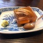 すい庵 - 穴子の煮凝り:最高の涼味