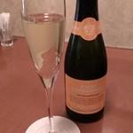 ムッシュたけぞう - Pinot Chardonnay Spumante