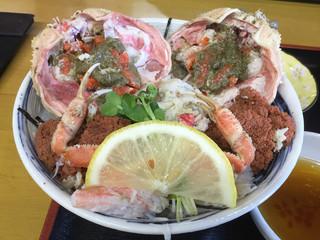お食事処 田島 - せい甲丼  3200円(税別)