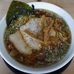 自家製拉麺 まつかぜ - ラーメン(しょうゆ味)700円