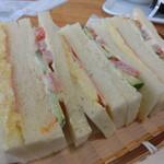 なかぱんカフェ - 料理写真:ミックスサンド
