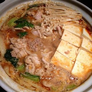 坦々ごま味噌鍋