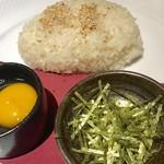 地産地鶏専門店 茂松 - 〆の雑炊