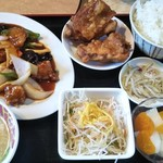 焼肉台湾料理 昇龍 - 18/11 中華酢豚定食:1080円